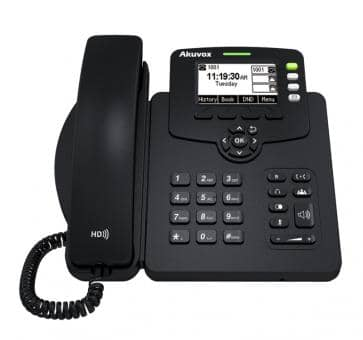 Akuvox SP-R53P IP phone PoE