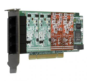 Digium 1A4A00F 4 port base card analog PCI (without modules)