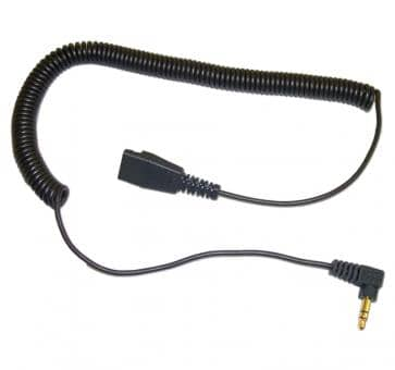 freeVoice cord with 3,5mm jack and QD 8735-009-FRVf