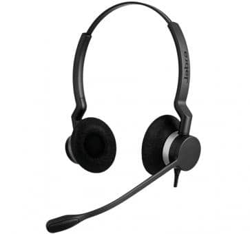 Jabra BIZ 2300 Headset Duo Wideband 2389-820-109