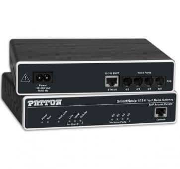 Patton Inalp SmartNode SN4118/4JS4JO/EUI 4x FXS 4x FXO