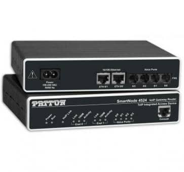 Patton SmartNode 4522 2x FXO VoIP Gateway Router SN4522/JO/EUI