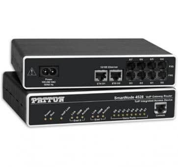 Patton SmartNode 4524 4x FXO VoIP Gateway Router SN4524/JO/EUI