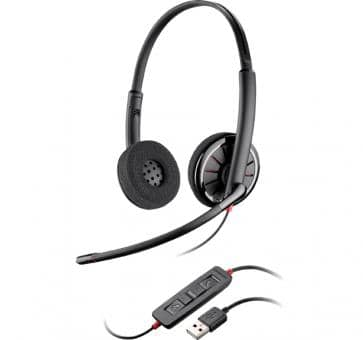 Plantronics Blackwire C320 DUO USB Headset 85619-02