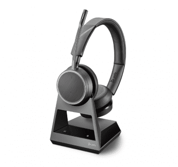Poly Plantronics Voyager 4220 Office Headset Duo USB-C Bluetooth 214592-05