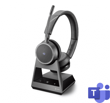 Poly Plantronics Voyager 4220 Office Headset Duo USB-C Teams Bluetooth 214602-05