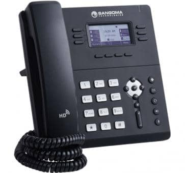 Sangoma S405 IP phone SIP PoE Gigabit