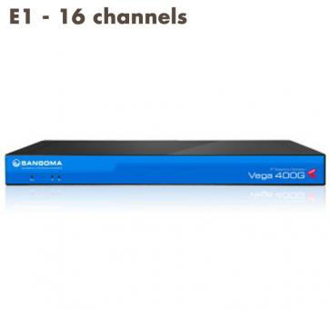 Sangoma Vega 400 Gateway E1 - 16 channels