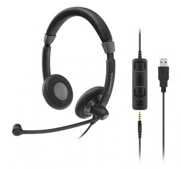 Sennheiser SC 75 Headset Duo USB 507087