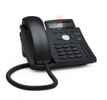 SNOM D315 business SIP phone with Gigabit and PoE (without PoE)
