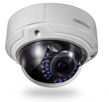 TRENDnet TV-IP341PI IP camera Outdoor 2MP 1080p PoE IR Fixed Dome 2.8-12mm