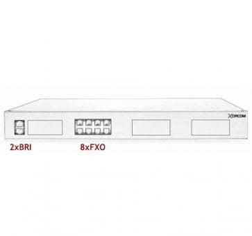 Xorcom IP PBX - 2 BRI + 8 FXO - XR1-87