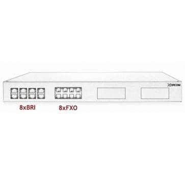 Xorcom IP PBX - 8 BRI + 8 FXO - XR1-99