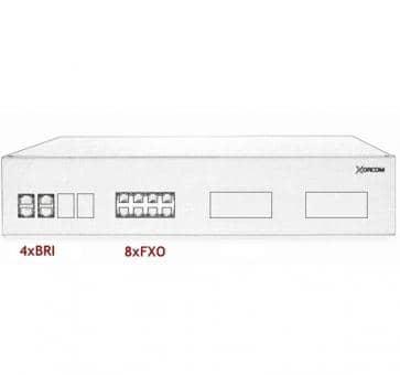 Xorcom IP PBX - 4 BRI + 8 FXO - XR2093