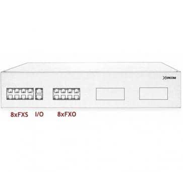 Xorcom IP PBX - 8 FXS + 8 FXO - XR3004