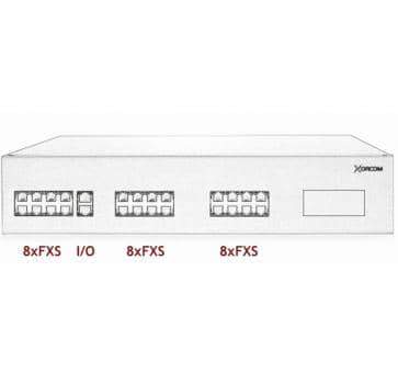 Xorcom IP PBX - 24 FXS - XR3005