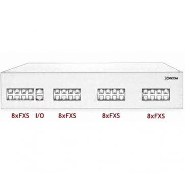 Xorcom IP PBX - 32 FXS - XR3008