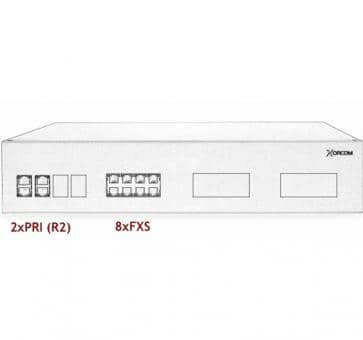 Xorcom IP PBX - 2 PRI + 8 FXS - XR3057