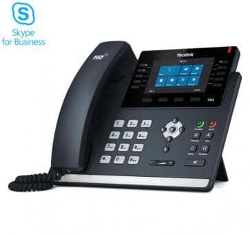 Yealink SIP-T46S IP phones Skype for Business  (without PSU)